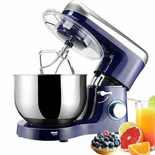 Elegant Life 1500W Küchenmaschine, 5.5L Auto-Knetmaschine Rührgeräte,...  RgLYS