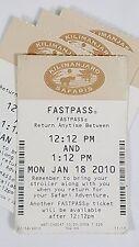 Disney FASTPASS Walt Disney World Fast Pass Ticket Kilimanjaro Safaris 12:12