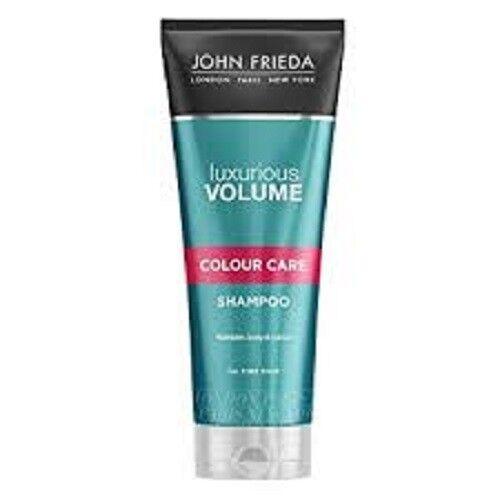 John Frieda LUXURIOUS VOLUME COLOUR CARE Shampoo AND Conditioner 250ml EACH