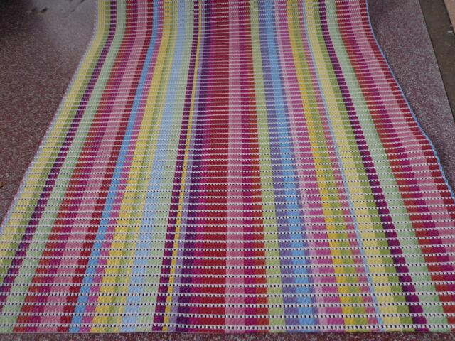 Weichschaumbelag Läufer Multi Stripes 65 cm breit Küche Bad Sauna Universalmatte
