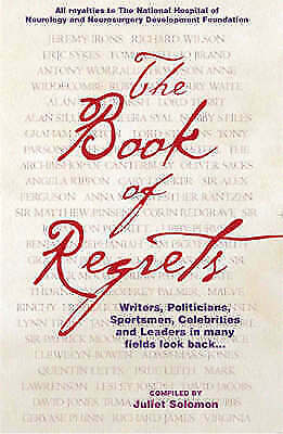 1 of 1 - The Book of Regrets, New Books