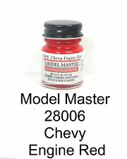 Model Master 28006 Chevy Engine Red 1/2 oz Lacquer Paint Bottle
