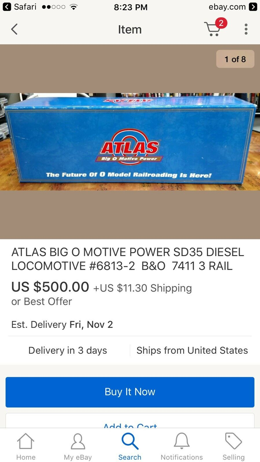 Atlas Big O Motive Power