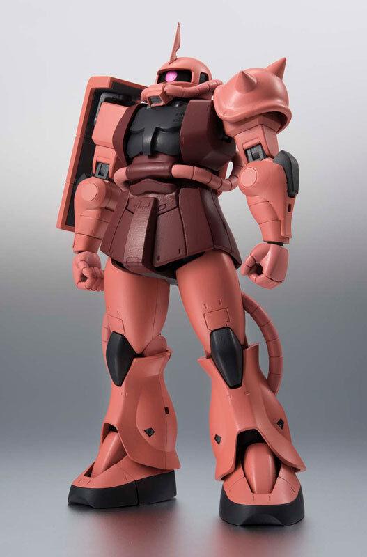 Mobile Suit Gundam Side MS - MS-06S Zaku Char's Custom Model A.N.I.M.E. Figure