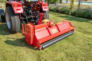 Details about BORA158 - Bora Heavy Duty Italian Flail Mower - 1 58m Wide  For Compact Tractors