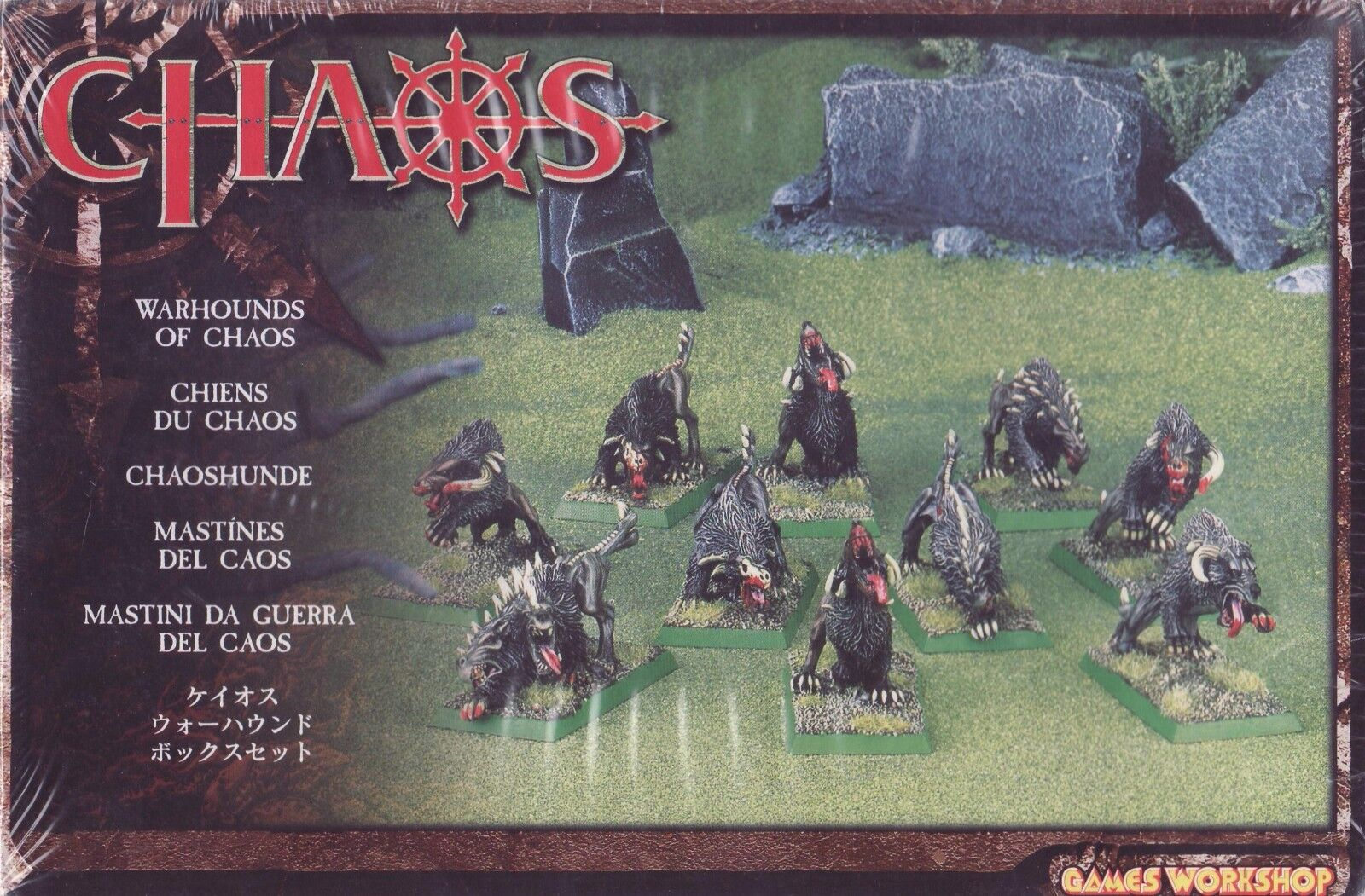 Warhammer CHAOS Warhounds of Chaos - FACTORY SEALED GamesWorkshop OOP
