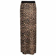 Womens Jersey Long Stretch Maxi Print Pattern Gypsy Bodycon Tube Skirt Dress