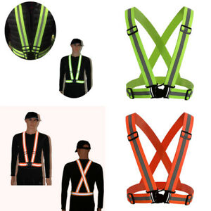 Safety Security Adjustable Vest Working Reflective Safety-Strip High Visibility