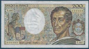 200-FRANCS-MONTESQUIEU-1991-T-087-BILLET-DE-BANQUE-FRANCAIS-TTB