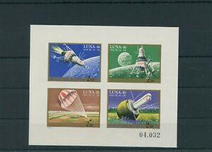 Hongrie-1971-Mi-2642-2645-B-Klbg-Neuf-MNH-Espace-Astronautique-Espace