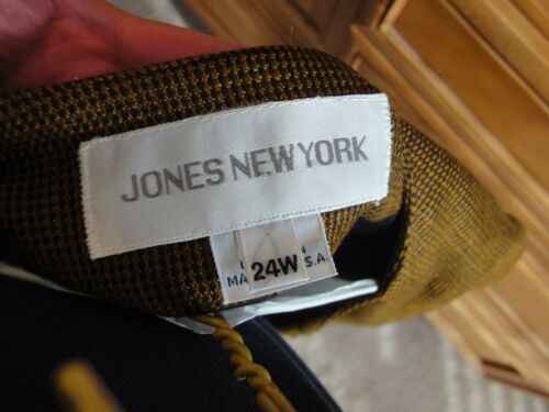 Uden York Uld Guld Tweed Career New Jones Labels Sort 24w Jacket Ladies 7xSqZnv