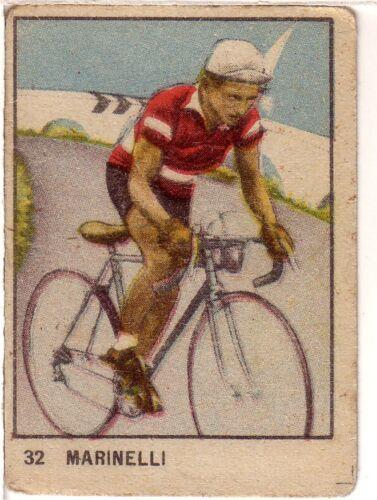 FIGURINA  VAV ANNI 40 CICLISMO CYCLING CYCLISME 32 MARINELLI PERFETTA  B103