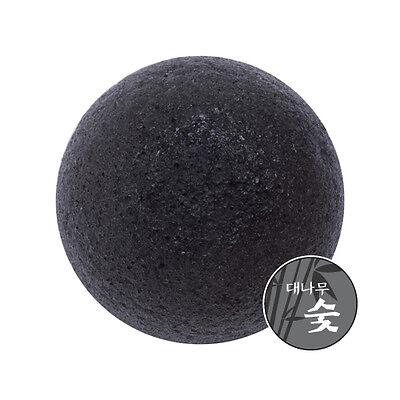 Missha Natural Soft Jelly Cleansing Puff Konjac Sponge Puff Charcoal 1pc