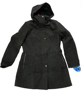 Giacca Blake Nero cappuccio impermeabile rimovibile con donna Kristen pioggia da anti rzSHrxPpn