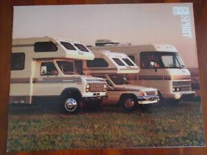 Details about Winnebago Itasca Spirit Motorhome brochure 1988