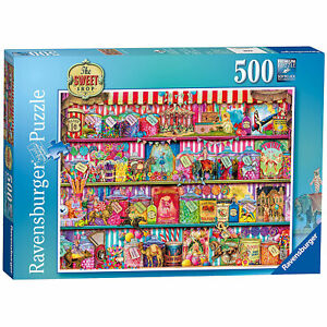 Ravensburger: The Sweet Shop 500 Piece Puzzle *BRAND NEW*