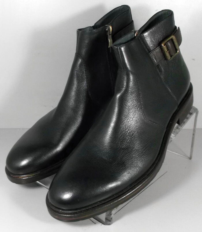 20NP728178MT SPBT50 Men's Boots 9 M Black Leather 1850 Series Johnston Murphy
