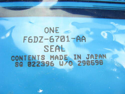 NEW GENUINE OEM Ford F6DZ-6701-AA Rear Main Seal 1996-1999 Taurus SHO 3.4L V8