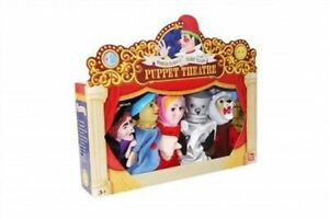 Puppet-Theatre-Large-5-Hand-Puppet-Set-The-Wizard-Of-Oz