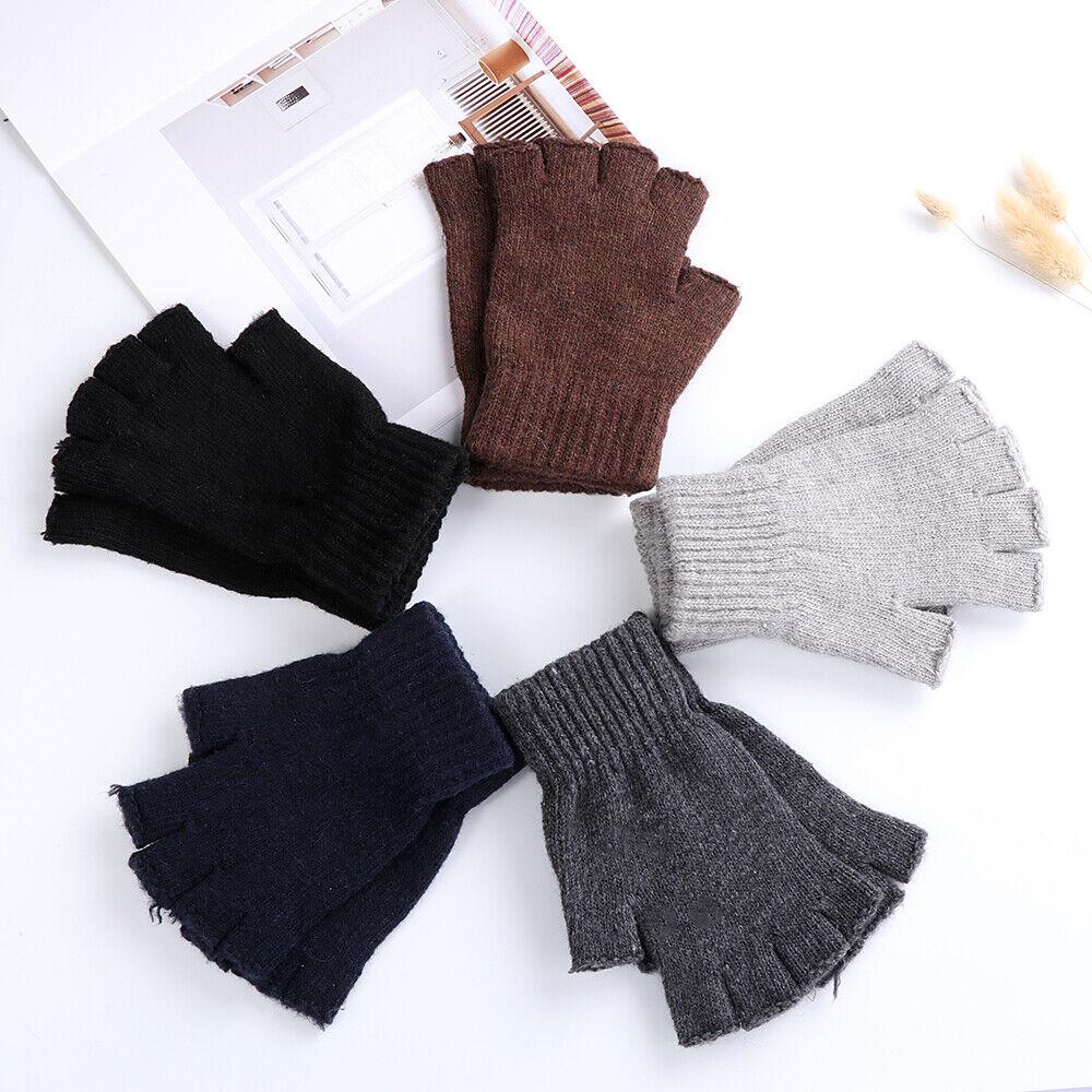 Warm Typing//Texting Gloves Half Finger Gloves Fingerless Gloves Wool  Knitted