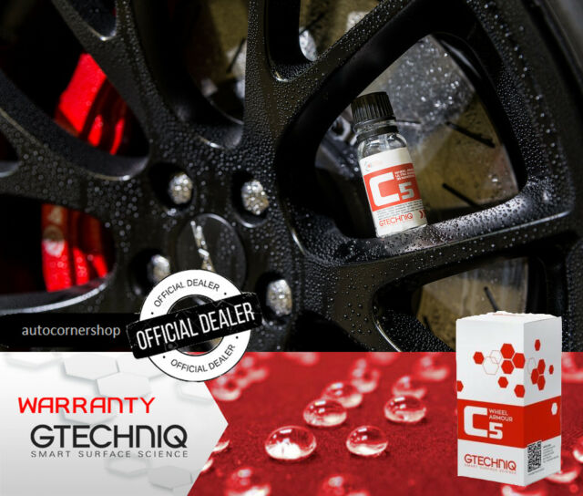 Gtechniq C5 Wheel Armour High Quality Product For Wheel Protection And Care 15ml