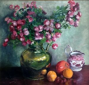JAN CUMMING Still life signed oil painting on board - <span itemprop=availableAtOrFrom>Lochgelly, United Kingdom</span> - JAN CUMMING Still life signed oil painting on board - Lochgelly, United Kingdom