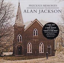 ALAN JACKSON PRECIOUS MEMORIES COLLECTION 2 CD - NEW RELEASE JUNE 2017