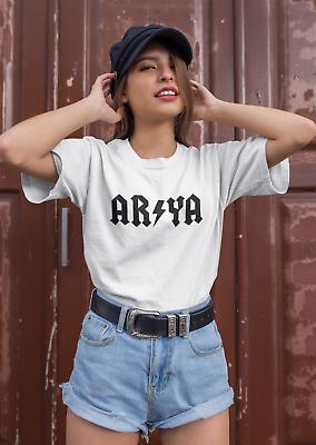 Arya Stark Rock Style Got Game Of Thrones Inspired T-shirt Shirt