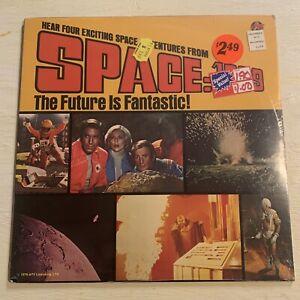 RARE SEALED Space: 1999 TV Show Episodes 4 Stories Sci Fi LP Power Records Mint