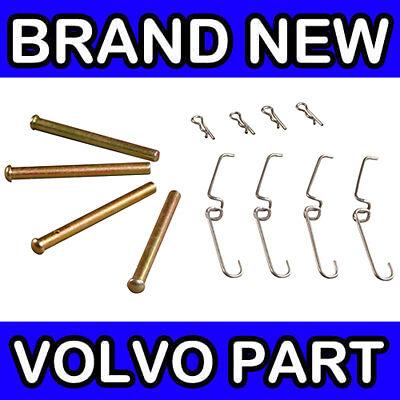 VOLVO 200 260 FRONT BRAKE PAD PIN KIT GIRLING // VENTED DISCS 240