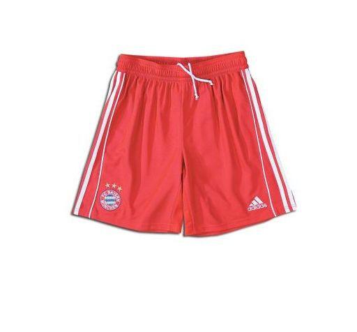 Adidas Bayern Munchen 2007-2008 Home Soccer Shorts Red Brand New