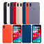 iPhone-XS-XS-Max-XR-Echt-Original-Apple-Silikon-Huelle-Case-18-Farben Indexbild 1