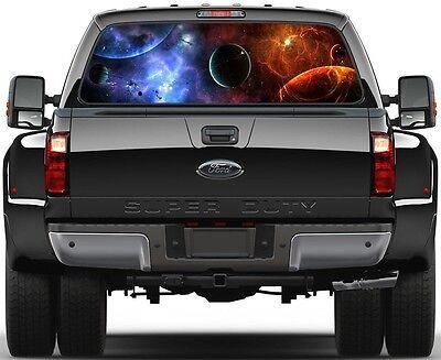 Space Lost Nibiru  Rear Window Graphic Decal Truck SUV Van Car