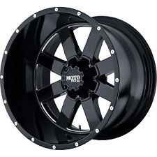 22x14 Moto Metal MO962 Rims Black Wheels 37x13.50R22 Mud Tires Chevy GMC Trucks