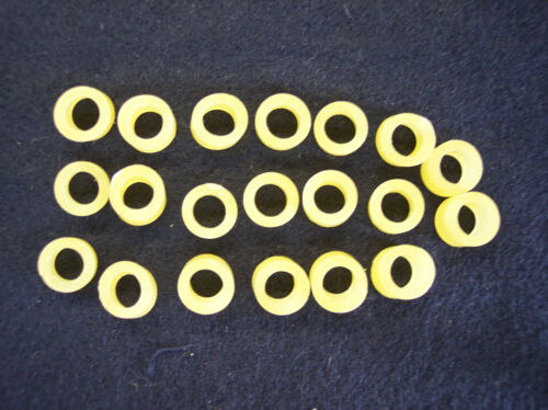 """#6  DOLL REPAIR 20 RUBBER BANDS RESTRINGING  8/"""" DOLLS ARMS AND WALKERS"""