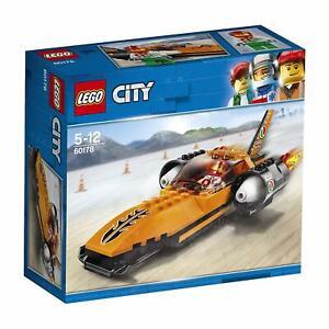 LEGO-City-Raketenauto-Rennwagen-Racer-Rennfahrer-Rennen-Fahrzeug-Weihnachtsgesch