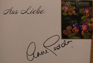 Autogramme & Autographen Liberal Anne Geddes Liebe Buch Original Signed Signiert Autograph Signatur Autogramm SchöN Und Charmant