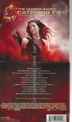 CD--The Hunger Games: Catching Fire Soundtrack   eBay