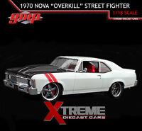 "Gmp 18811 1:18 1970 Chevrolet Nova ""overkill"" Street Fighter"