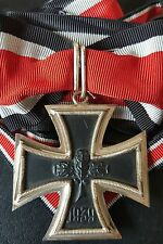 ✚7503✚ German Iron Cross Knight Cross  medal post WW2 1957 pattern MAGNETIC ST&L