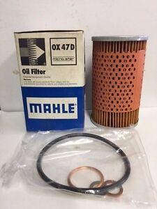 Mahle Oil Filter # OX47D fits Many Mercedes Benz Models