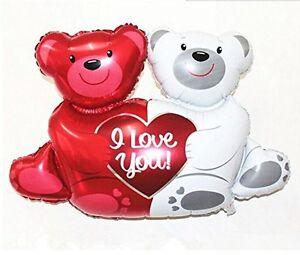 Valentine-039-s-Day-Love-You-Teddy-Bears-Happium-28-039-039-93cm-Foil-Balloon