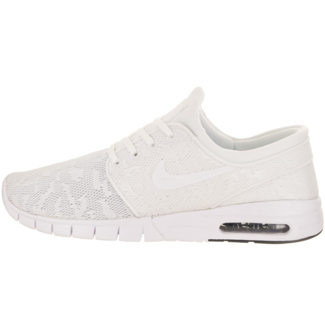 online store c246c 78188 NIKE Air SB Stefan Janoski Max Sneaker Sport Shoes Trainers white 631303 114  WOW