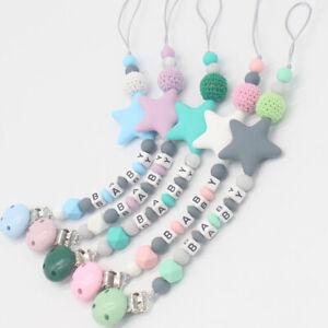 Riche-bebe-jouet-Silicone-sucettes-bebe-ses-dents-la-chaine-les-clips-fictif