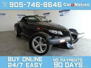 2000 Plymouth Prowler CONVERTIBLE |LEATHER |VERY RARE | YES ONLY 599KM!