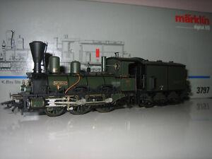 Märklin H0 3797 Locomotive À Vapeur Numérique État Neuf Embalage D'origine