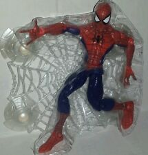 "Marvel Universe SPIDER-MAN Legends 6"" Figure Classics with Wall Sticking Web"