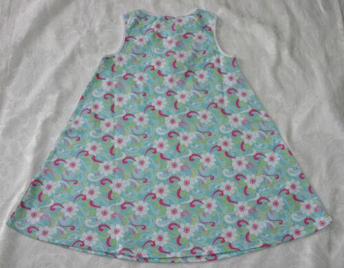 Gymboree PALM SPRINGS Blue Swirl Keyhole Knit Dress NWT 6