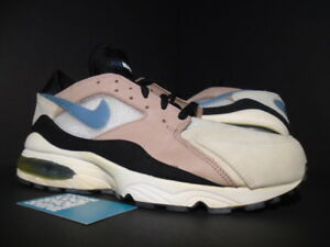 Details about 03 NIKE AIR MAX 93 LEATHER 1 ESCAPE ROPE STORM GREY WHITE BLACK 305956 201 11.5