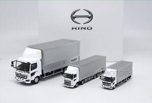 HINO-RANGER-PROFIA-Diecast-Metal-Car-Truck-Trailer-Container-Model-3-units-set